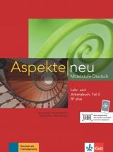 Aspekte neu B1+ in Teilbänden Lehr- und Arbeitsbuch Teil 2 mit Audio CD