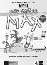 Der grüne Max Neu 2 Arbeitsbuch + CD