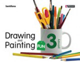 DRAWING & PAINTING FUN 3 Student´s Book with Audio CD