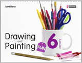 DRAWING & PAINTING FUN 6 Student´s Book with Audio CD
