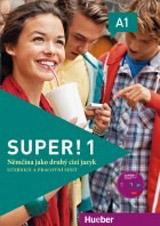 Super! 1 Kursbuch + Arbeitsbuch mit CD zum Arbeitsbuch