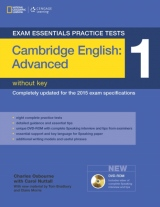 Exam Essentials: Cambridge Advanced Practice Test 1 without key + DVD-ROM (New Edition)