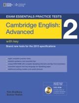 Exam Essentials: Cambridge Advanced Practice Test 2 with key + DVD-ROM (New Edition)