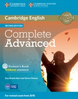 Complete Advanced 2nd Edition Student´s Book without answers