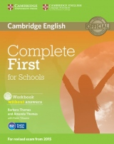 Complete First for Schools Workbook without answers with Audio CD