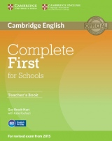 Complete First for Schools Teacher´s Book