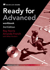Ready for Advanced (CAE) (3rd Edition) Workbook without Key with Workbook Audio CD