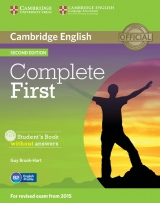 Complete First (2nd Edition) Student´s Book without Answers with CD-ROM