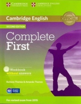 Complete First (2nd Edition) Student´s Pack (Student´s Book without Answers with CD-ROM, Workbook without Answers with Audio CD)