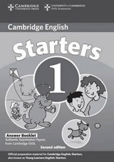 Cambridge Young Learners English Tests, 2nd Ed. Starters 1 Answer Booklet