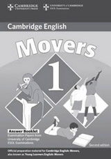 Cambridge Young Learners English Tests, 2nd Ed. Movers 1 Answer Booklet