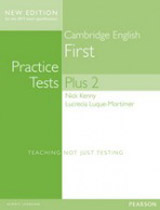 Cambridge English First Practice Tests Plus 2 (New Edition) Student´s Book without Key