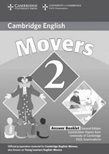 Cambridge Young Learners English Tests, 2nd Ed. Movers 2 Answer Booklet