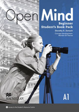 Open Mind Beginner Student´s Book with Video-DVD