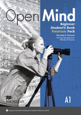 Open Mind Beginner Student´s Book Pack Premium with Webcode for Online Video & MP3 Audio