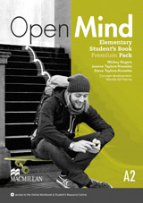 Open Mind Elementary Student´s Book Pack Premium with Webcode for Online Video & MP3 Audio