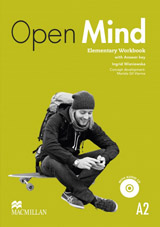 Open Mind Elementary Workbook with key and CD Pack