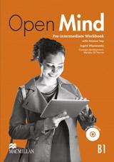 Open Mind Pre-Intermediate Workbook with key & CD Pack