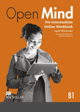 Open Mind Pre-Intermediate Online Workbook