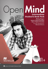 Open Mind Intermediate Student´s Book with Video-DVD