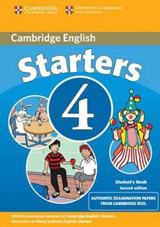 Cambridge Young Learners English Tests, 2nd Ed. Starters 4 Student´s Book