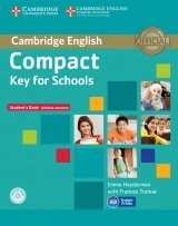 Compact Key (KET) for Schools Student´s Book without Answers with CD-ROM