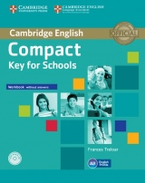 Compact Key (KET) for Schools Workbook without Answers with Audio CD