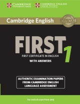 Cambridge English: First (FCE) 1 (2015 Exam) Student´s Book with Answers