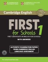 Cambridge English: First (FCE) for Schools 1 (2015 Exam) Student´s Book Pack (Student´s Book with Answers & Audio CDs (2))