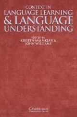 Context in Language Learning and Language Understanding PB