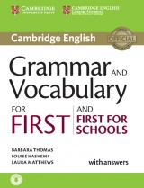 Grammar and Vocabulary for First (FCE) and First for Schools Book with Answers and Audio Download