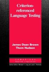 Criterion-Referenced Language Testing PB