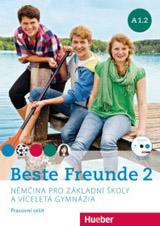 Beste Freunde 2 (A1/2) Arbeitsbuch mit CD-ROM Tschechisch