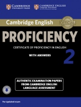Cambridge English: Proficiency (CPE) 2 Student´s Book (Student´s Book with Answers & Audio ke stažení )