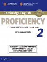 Cambridge English: Proficiency (CPE) 2 Student´s Book without Answers