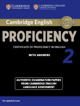 Cambridge English: Proficiency (CPE) 2 Student´s Book with Answers