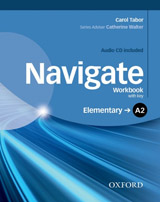 Navigate Elementary A2 Workbook with Key & Audio CD