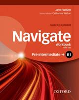 Navigate Pre-Intermediate B1 Workbook with Key & Audio CD