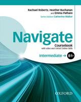 Navigate Intermediate B1+ Student´s Book with DVD-ROM & Online Skills