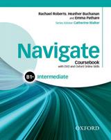 Navigate Intermediate B1+ Student´s Book with DVD-ROM, eBook & Online Skills