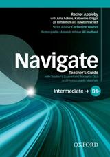 Navigate Intermediate B1+ Teachers Book with Teachers Resource Disc