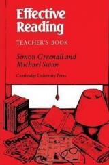 Effective Reading Teacher´s Book