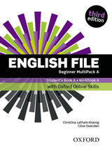 English File Beginner (3rd Edition) Multipack A with Online Skills