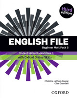 English File Beginner (3rd Edition) Multipack B with Oxford Online Skills
