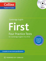 Cambridge English: First (FCE) Four Practice Tests with MP3 Audio CD