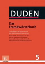 Duden 5 Fremdwörterbuch (11. auflage)
