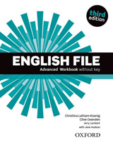 English File (3rd Edition) Advanced Workbook without Key