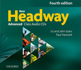 New Headway (4th Edition) Advanced Class Audio CDs (4)