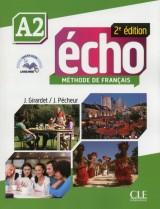 Écho A2 - 2e édition Livre de l´élève + DVD-Rom + livre-web