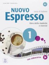 Nuovo Espresso 1 A1 Libro dello studente ed esercizi + DVD-ROM